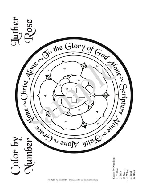 5 Solas Coloring Page by The Five Solas Signs To Follow On The Narrow Path A 7