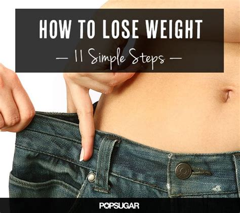How To Lose Weight In The Shower by Follow These 11 Steps To Reach Your Goal Weight