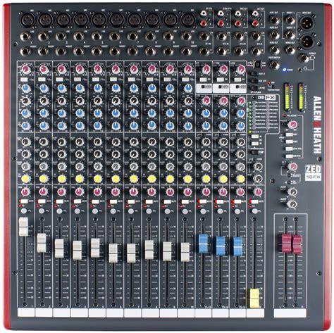 Mixer Allen Heath Zed allen heath zed 16fx keymusic