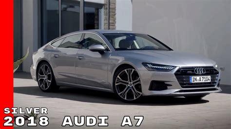 audi a7 interior silver 2018 audi a7 exterior interior drive