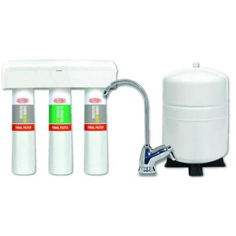 dupont 3 stage quicktwist osmosis water filtration