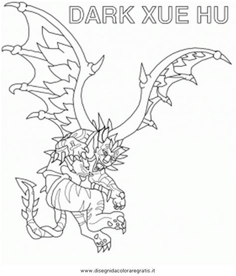 invizimals tiger shark coloring page free coloring pages
