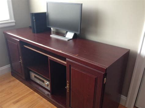Computer Desk Wall Unit Free Computer Desk Wall Unit Oak Bay