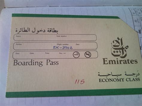 emirates boarding pass emirates boarding pass pictures to pin on pinterest