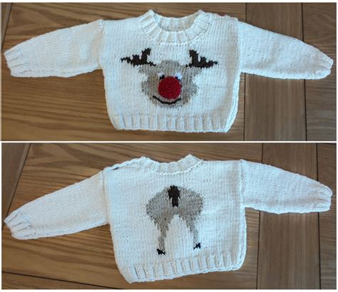 knitting pattern reindeer jumper knit and stitch blog from black sheep wools king cole