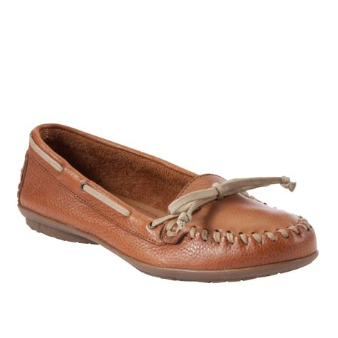 hush puppies moccasins hush puppies 174 ceil moccasins in brown lyst