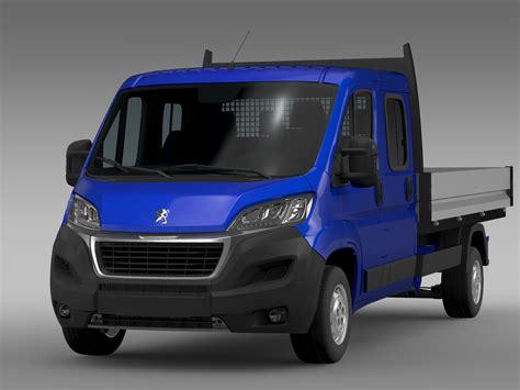 peugeot car models list peugeot boxer crew cab truck 2016 3d model buy peugeot