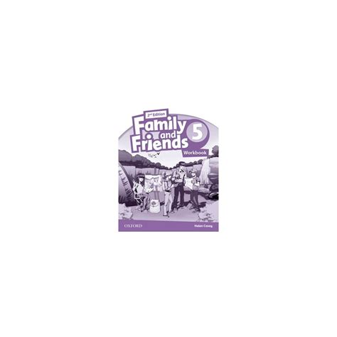 libro family and friends 5 family and friends 5 2nd ed workbook ed oxford libroidiomas
