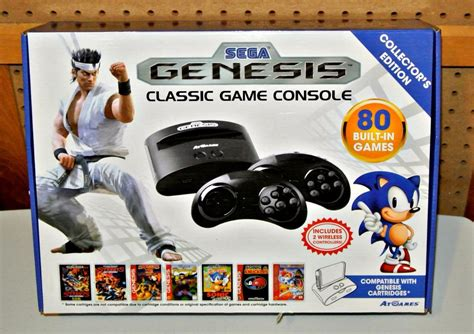 sega genesis classic console n play 80 built in