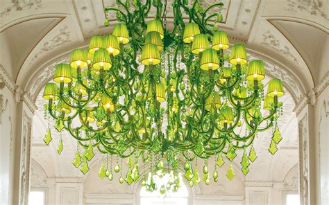 Lime Green Chandelier Spectacular Lime Green Chandeliers By Masiero Ottocento Collection