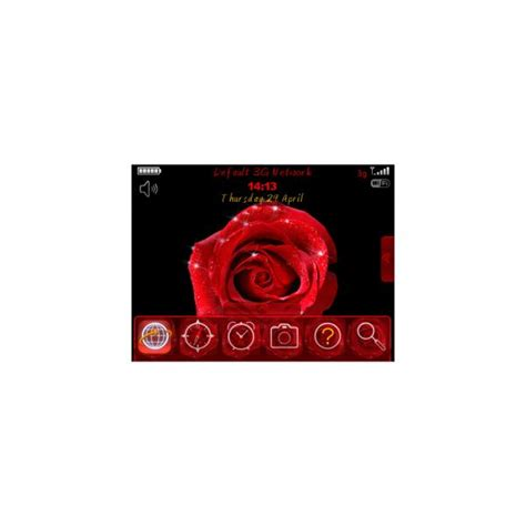 theme rose blackberry best free blackberry tour themes