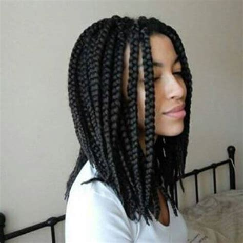 shoulder length individual braids 80 great box braids styles for every occasion