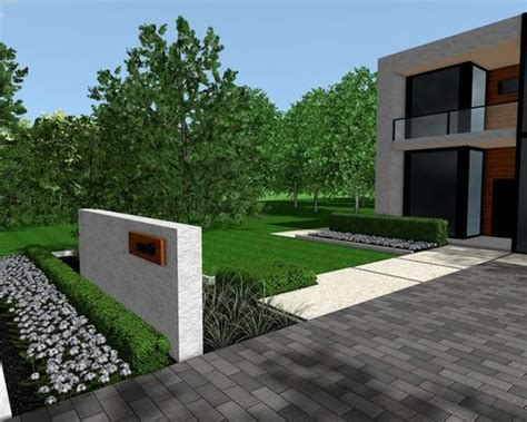 best modern front yards design ideas remodel pictures houzz