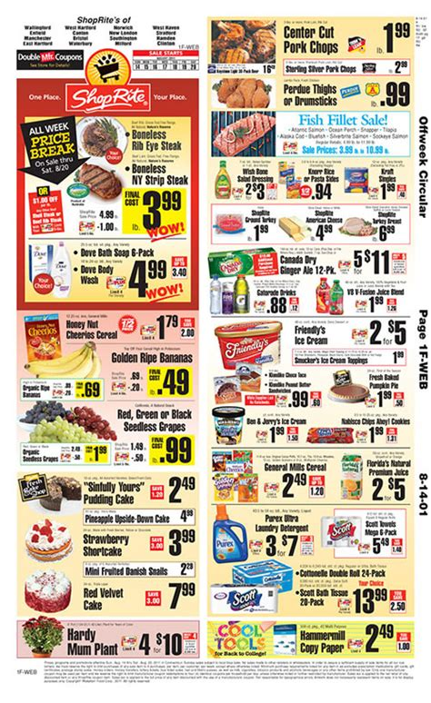 shoprite circular coupons