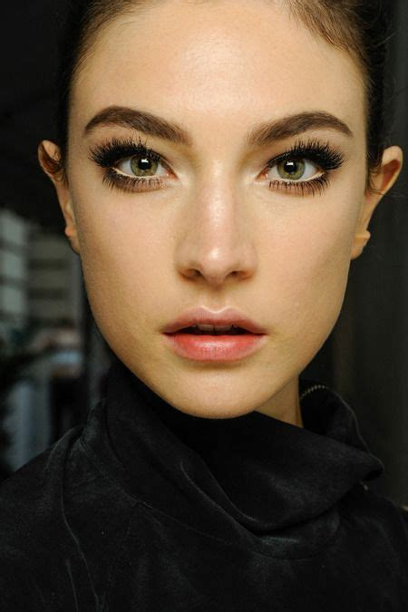 Do Couture Lashes Interest You by Fall 2013 Couture Atelier Versace