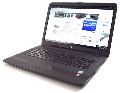hp pavilion 17 hp pavilion 17 x110ng notebook review notebookcheck net