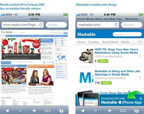 web version on mobile 4 predictions for web design in 2011 toronto colocation
