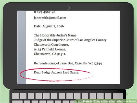 how to write a character letter to a judge how to write a character letter to a judge 13 steps