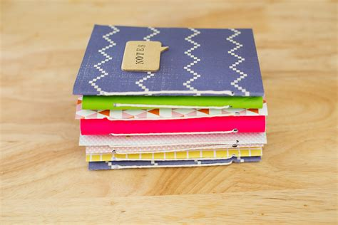 How To Make A Diary With Paper - gift idea journals a beautiful mess
