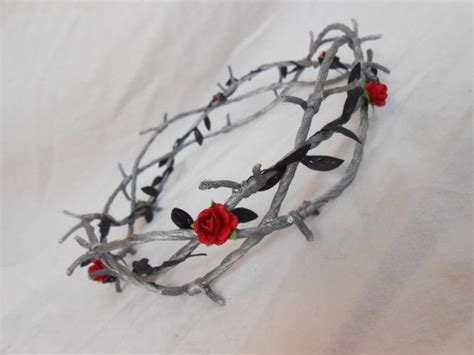 tattoo fixers zombie barbed wire barbed wire crown of thorns silver black leaves red by