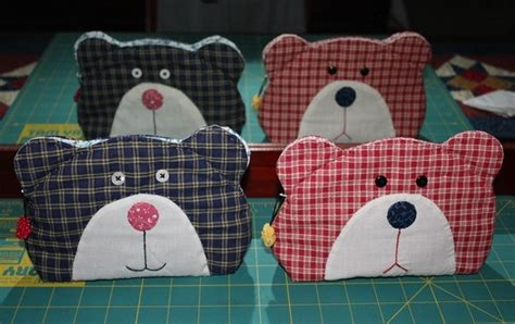 Patchwork Teddy Sewing Pattern - teddy quilt bag tutorial diy tutorial ideas