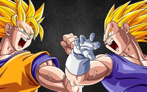 wallpaper dragon ball z vegeta dragon ball z goku vs vegeta wallpaper