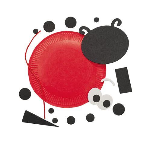 Paper Plate Ladybug Craft - paper plate ladybug craft kit trading