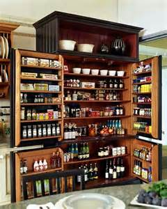 large kitchen pantry for the home
