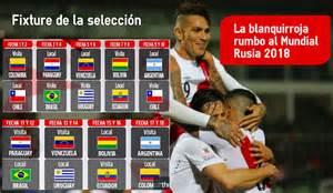 Calendario Eliminatorias Rusia 2018 Hora Venezolana Colombia Vs Peru Eliminatorias 2015