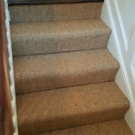 Sisal Teppich Treppe by Sisal Stairs The Flooring