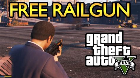 how to get gta5 for free on xbox 360 gta 5 how to get a free railgun very quick simple