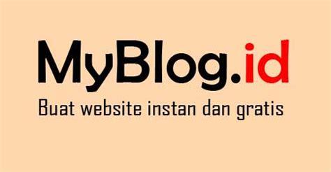Membuat Website Instan Gratis | cara membuat blog dengan domain berbayar com web id