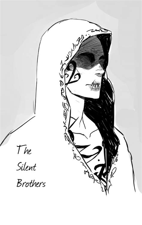 A Silent Brother fanart from The Mortal...