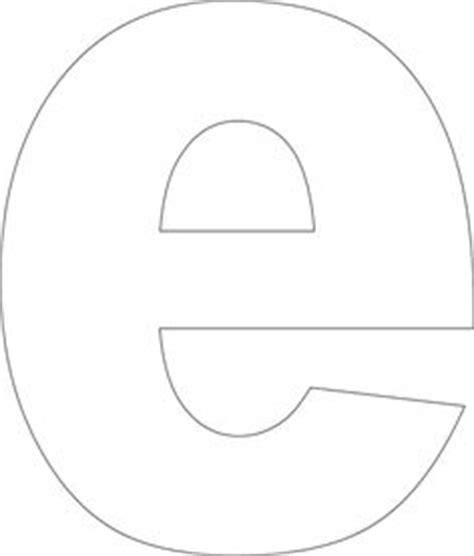 e template free printable lower alphabet template e free