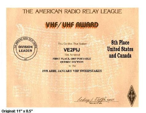 Arrl Sweepstakes Rules - vhf uhf contest rules results forms certificates
