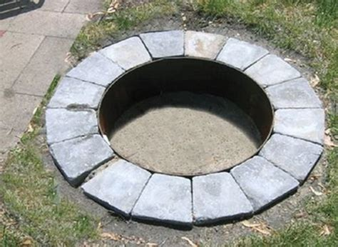 36 quot dia x 14 quot high carbon steel pit ring insert