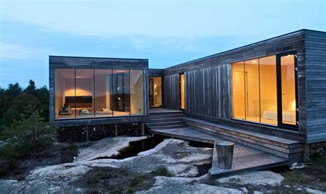 cabin architecture modern cabin norway bjerg 248 y residence gj 9 e architect