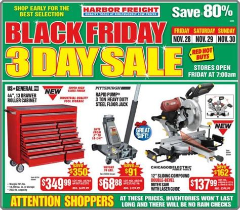 Harbor Freight Black Friday 2014 Ad Page 1