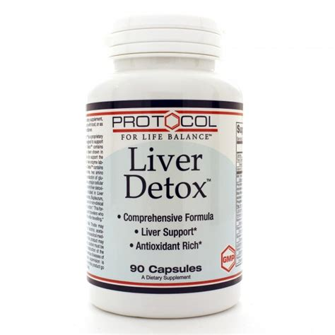 Orthomolecular Detox by Protocol For Liver Detox 90c The