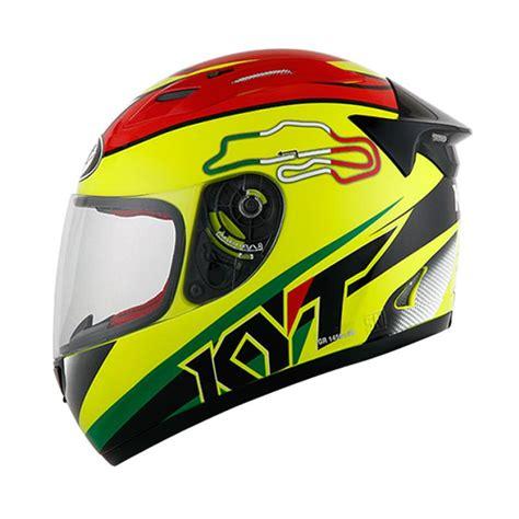 Helm Helm Kyt Rc7 15 Italy White by Jual Helm Kyt Rc7 Cek Harga Di Pricearea