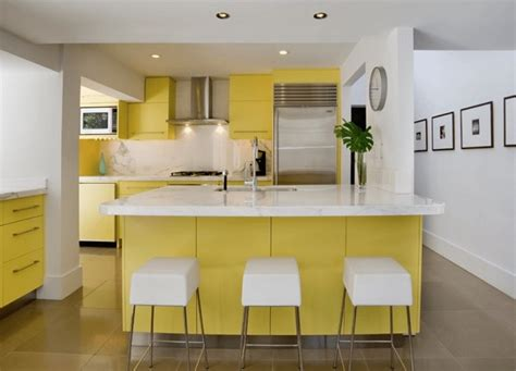 yellow and white kitchen ideas yellow and white kitchen designs cabinets ideas photos
