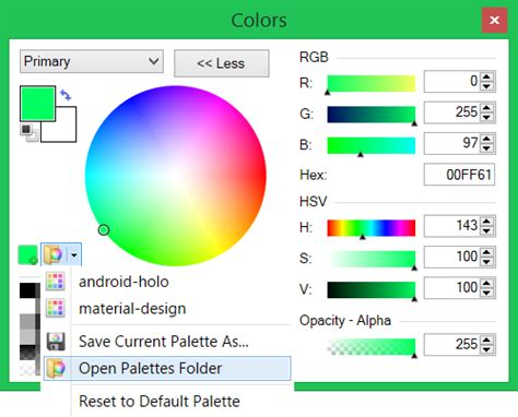 anonsage think do learn level up paint net android how to create new color palettes
