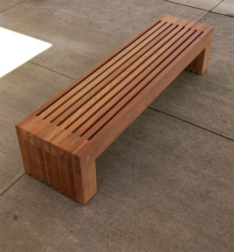 modern furniture bench contemporary wood bench pollera org