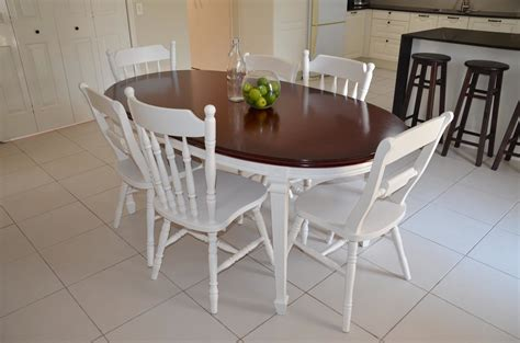 Dining Room Table And Chairs Set Shabby Chic French Provincial Dining Suite Makeover Youtube