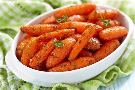 honey glazed roasted carrots recipe with herbs by archana