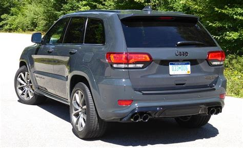 charcoal grey jeep grand cherokee first drive 2018 jeep grand cherokee trackhawk nydn