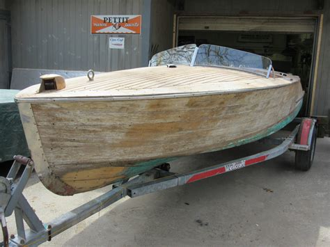 How To Make A Speed Boat Out Of Paper - 1951 chris craft racing runabout project onatrailer
