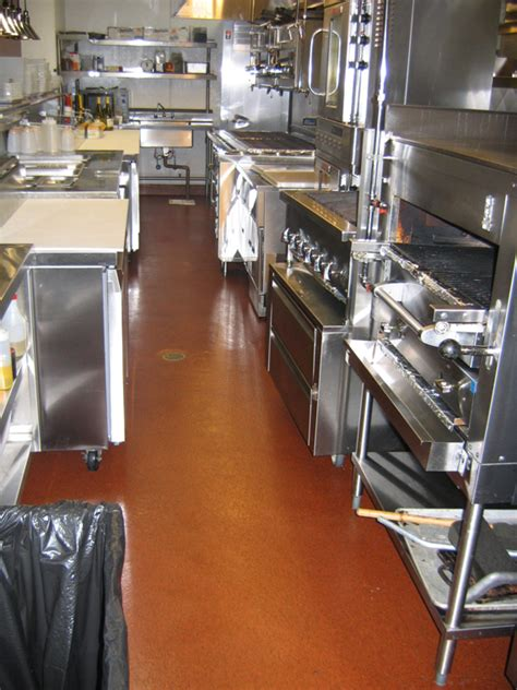 restaurant kitchen flooring restaurant kitchen floor flooring contractor talk intended