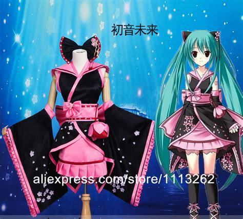 Kaos Anime Miku 01 hatsune miku costume hatsune miku japanese kimono