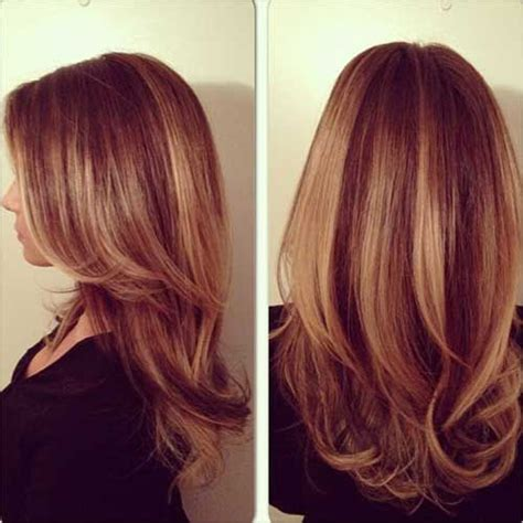 how to highlight layered hair balayage highlights red hair my new haircut pinterest